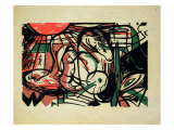 The Birth of the Horse, 1913 Giclee Print by Franz Marc