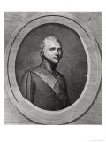Portrait of Alexander I (1777-1825) Engraved by Pierre Alexandre Tardieu (1756-1844) Giclee Print by Gerhard Kuchelchen