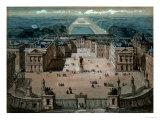 View of Versailles Giclee Print by Luigi Loir