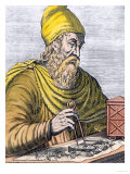 Archimedes (287-212 BC) (Later Colouration) Reproduction procédé giclée