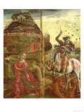 St. George and the Dragon, from a Polyptych, 1469 Giclee Print by Cosimo Tura