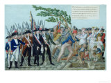 The Planting of a Tree of Liberty, circa 1789 Giclee Print by Le Sueur Brothers