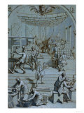 Frontispiece for the Royal Printing Works Giclee Print