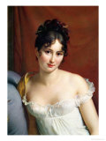 Portrait of Madame Recamier (1777-1849) Giclee Print by Francois Gerard