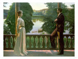 Nordic Summer Evening, 1899-1900 Giclee Print by Sven Richard Bergh