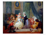 The Toilet Giclee Print by Francois Louis Joseph Watteau