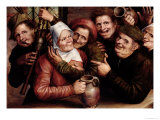 Merry Company, 1562 Giclee Print by Jan Metsys