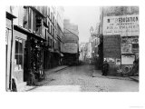 Rue Descartes, from the Rue Mouffetard, Paris, 1858-78 Giclee Print by Charles Marville
