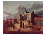 Westminster Hall and New Palace Yard Giclee Print by Thomas Sandby