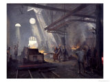A Forge, 1893 Giclee Print by Fernand Cormon
