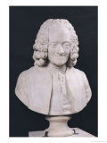 Bust of Francois Marie Arouet De Voltaire (1694-1778) 1778 Giclee Print by Jean-Antoine Houdon