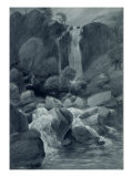 Taylor Ghyll, Sty Head, Borrowdale, 1806 Giclee Print by John Constable