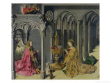 The Annunciation, circa 1445 Giclee Print by  Master of the Aix Annunciation