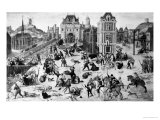 St. Bartholomew's Day Massacre, 24th August 1572 Giclee Print by Francois Dubois