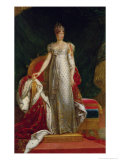 Portrait of Empress Marie Louise (1791-1847) of France, after a Painting by Francois Gerard Giclee Print by Paulin Jean Baptiste Guérin
