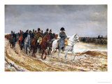 Napoleon (1769-1821) on Campaign in 1814, 1864 Giclee Print by Jean-Louis Ernest Meissonier