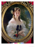 Portrait of Sophie Troubetskoy (1838-96) Countess of Morny, 1863 Giclee Print by Franz Xavier Winterhalter