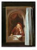 Self Portrait Giclee Print by Gerrit Dou