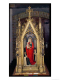Virgin and Child, Reverse of the Reliquary of St. Ursula, 1489 Giclee Print by Hans Memling