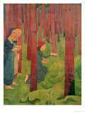 The Incantation, or the Holy Wood, 1891 Giclee Print by Paul Serusier