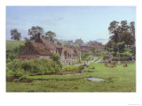Evening in Arlington Row, Bibury, Gloucestershire Giclee Print by Newton Bennett