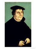 Martin Luther (1483-1546) Giclée-tryk af Lucas Cranach the Elder