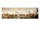 London Bridge, circa 1630 Giclee Print by Claude de Jongh