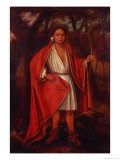No Nee Yeath Tan No Ton, King of the Generath, 1710 Giclée-Druck von Johannes Verelst