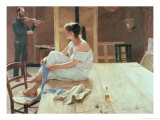 After the Pose, 1884 Giclee Print by Sven Richard Bergh