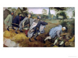 Parable of the Blind, 1568 Giclee Print by Pieter Bruegel the Elder