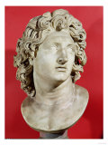 Alexander the Great (356-323 BC) King of Macedonia, Roman Copy of Greek Original Giclee Print