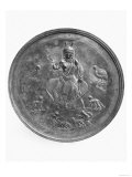 Large Patera Depicting a Goddess Probably of Hunting Surrounded by Animals, from Stuma Giclee Print
