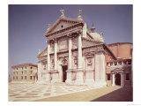 View of the Facade, Built 1607-11 Giclee Print by Andrea Palladio
