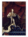 Portrait of Louis XIV (1638-1715) Aged 10, 1648 Giclee Print by Henri Testelin