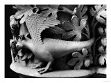 Basilisk, Capital from Cathedral of Notre Dame at Reims (Plaster Cast from Stone) Giclee Print