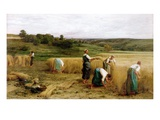 Harvest, 1874 Giclee Print by Leon Augustin Lhermitte