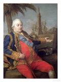 Pierre De Suffren-Saint-Tropez (1729-88) Vice Admiral of France Giclee Print by Pompeo Batoni