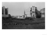 Rue D'Alesia, from Rue De La Tombe Issoire, Paris, 1858-78 Giclee Print by Charles Marville