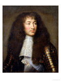 Portrait of Louis XIV (1638-1715) Reproduction procédé giclée par Charles Le Brun