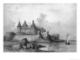 Kalmar Castle Giclee Print by Auguste Etienne Francois Mayer