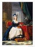 Marie-Antoinette (1755-93) 1788 Reproduction procédé giclée par Elisabeth Louise Vigee-LeBrun