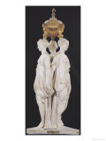 The Three Graces, Funerary Monument with the Heart of Henri II (1519-59) 1559 Giclee Print by Germain Pilon