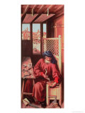 St. Joseph Portrayed as a Medieval Carpenter from the Merode Altarpiece circa 1425 Giclee Print by Master of Flemalle 