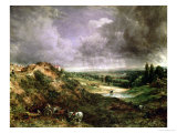 Hampstead Heath Premium Giclee Print by John Constable