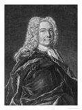 Emanuel Swedenborg (1688-1772) Giclee Print by Johann Martin Bernigeroth