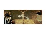 Martin Luther's Sermon, Detail from a Triptych, 1547 Giclée-Druck von Lucas Cranach the Elder