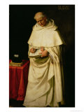Brother Pedro Machado (D.1604) Giclee Print by Francisco de Zurbar&#225;n