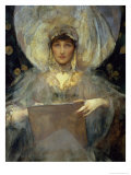 Violet, Duchess of Rutland Giclee Print by James Jebusa Shannon