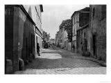 Rue Des Anglaises, from Rue De Lourcine, Paris, 1858-78 Giclee Print by Charles Marville