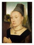 Barbara De Vlaenderberch, circa 1472-75 Giclee Print by Hans Memling
